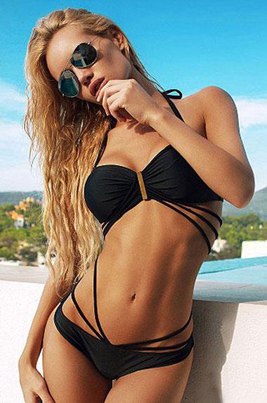 Sexy companion in bikini